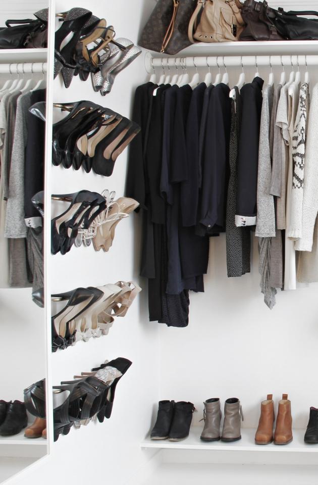 Kresne kontraster Walk-in garderobe