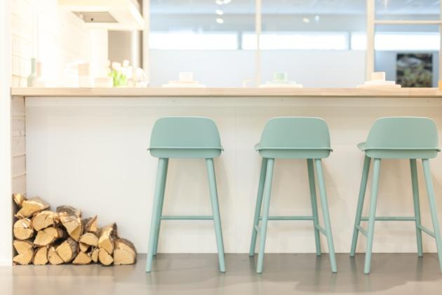 sigdal 2 lyseblå stoler